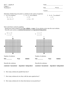 Worksheet 4
