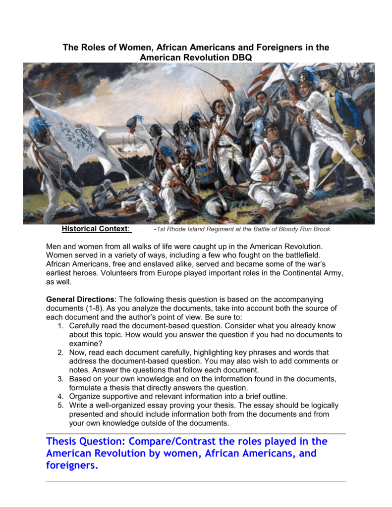 The battles of the continental army essay
