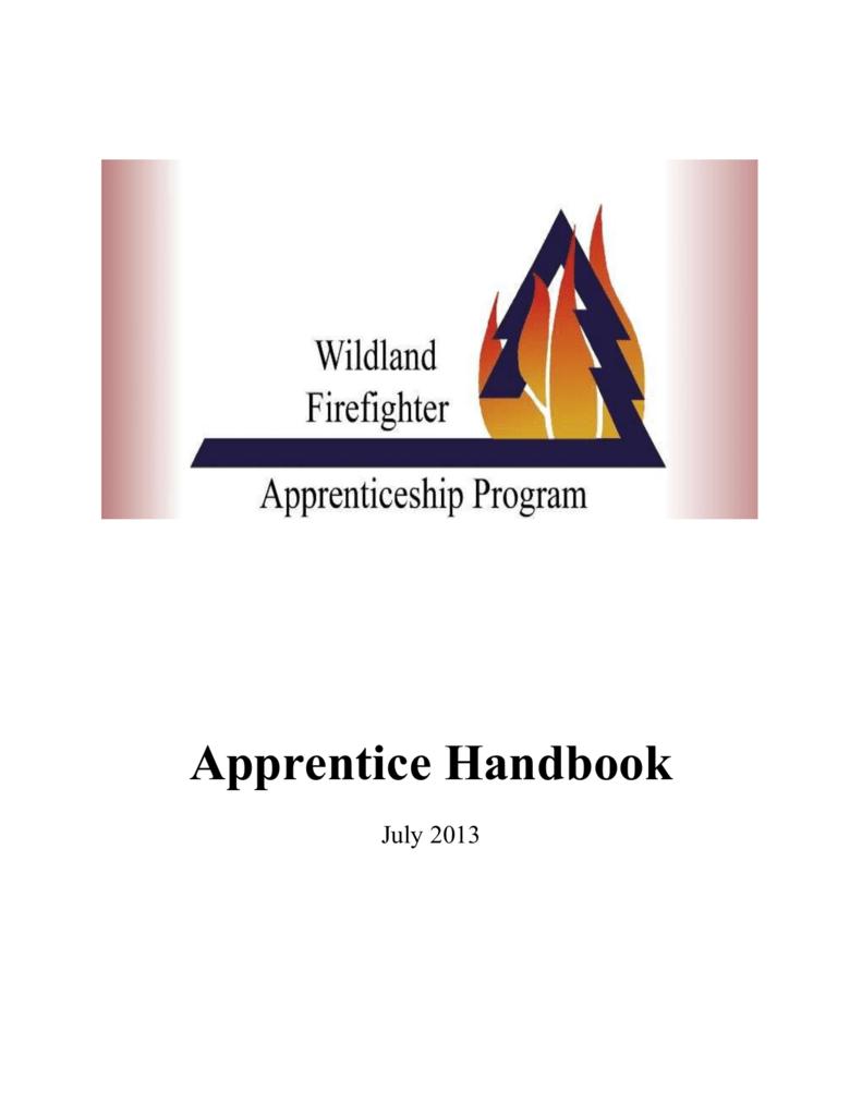 Apprentice Handbook Wildland Firefighter Apprenticeship Program