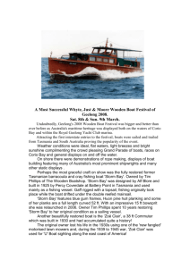 A Most Successful Whyte, Just & Moore Wooden Boat Festival of