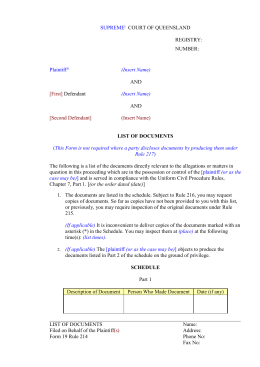 Uniform Civil Procedure Rules - Form 19.2