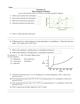 Phase diagram review liberty union high school district phase diagram worksheet ccuart Gallery