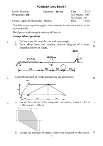 Applied Mechanics (Statics)