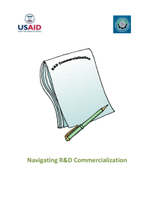5. The Process of R&D Commercialization