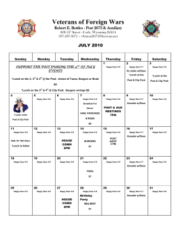 VFW Post 2673 - VFW of Wyoming