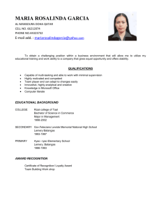 View My Resume - Qatarmark.com