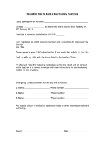 Build a bear reply slip Jan 2015