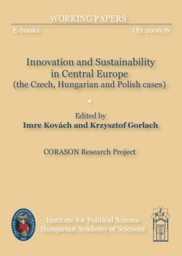 Innovation and Sustainibility in Central Europe