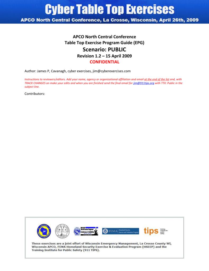 epg-public - cyber exercises