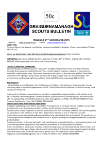 newsletter - Graiguenamanagh Scout Group