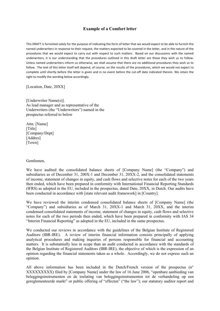 Comfort letter example timiznceptzmusic comfort letter example spiritdancerdesigns Gallery