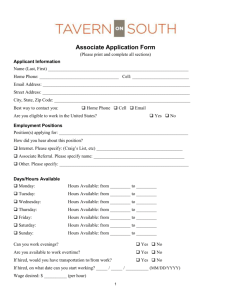 an application here