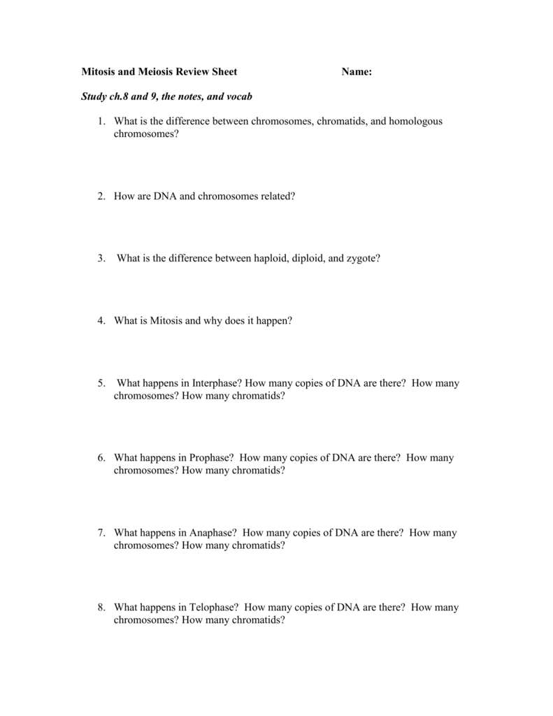 worksheet Mitosis Meiosis Review Worksheet 009060865 1 bf2467594547ab8fb22605ca6f489c97 png
