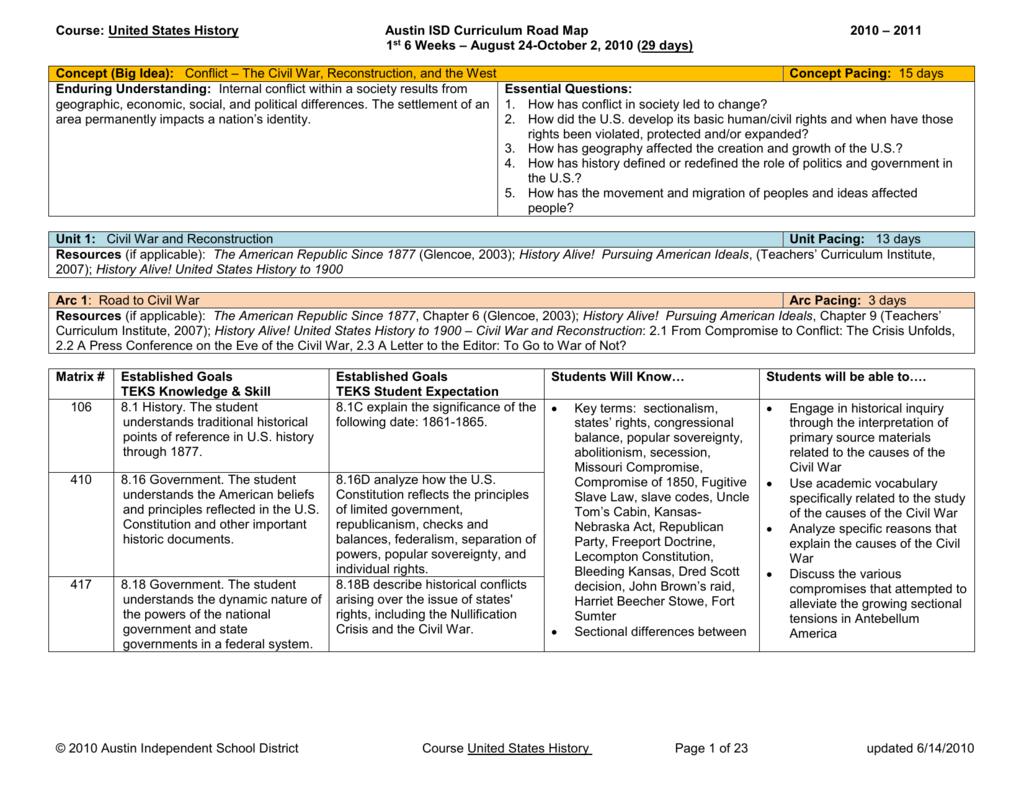 Worksheets Teachers Curriculum Institute Worksheets matrix curriculum