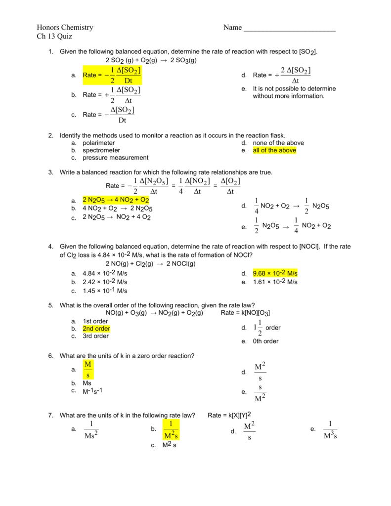 Chemistry: A Molecular Approach, 2e (Tro) - EHS