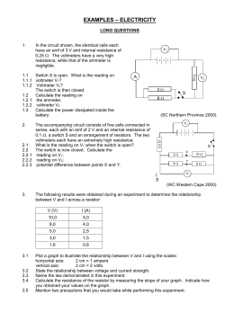 Phys 222 Worksheet 11 Energy And Power In Circuits Answers