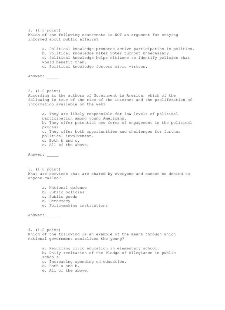Quiz 1 - general.utpb.edu