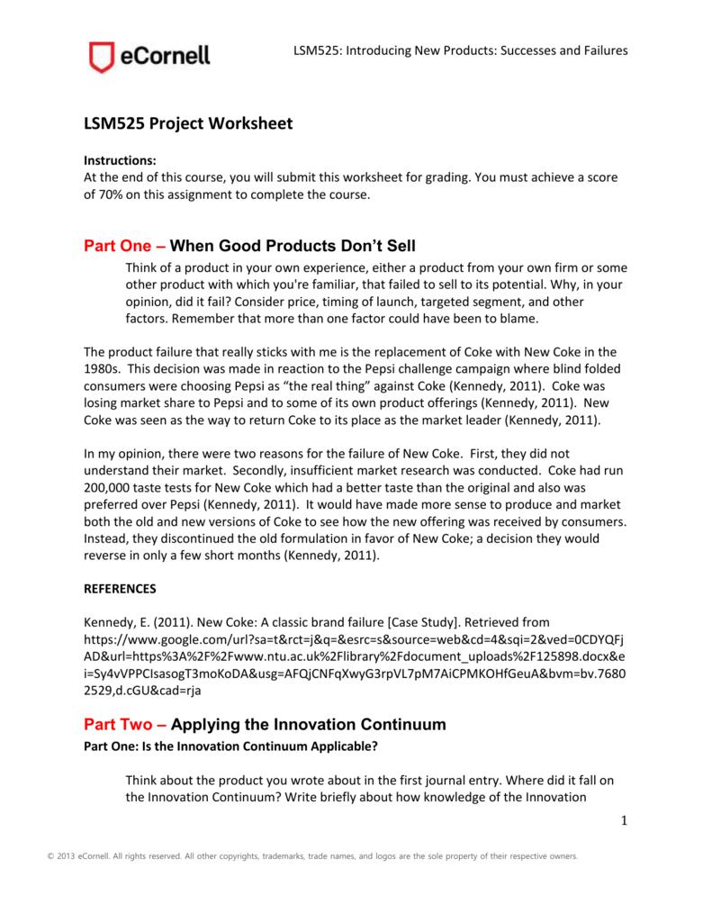 coke case study case study introducing new coke