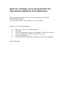 english pp3 - FREE KCSE PAST PAPERS