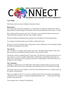RCPN Case Study for May 2012 Events