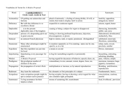 a modest proposal worksheet pdf