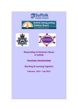 domestic violence & abuse