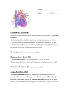 Cardio_Kickboxing_files/Heart Rate Work Sheet