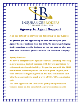 Agent to Agent Support - Insurance Brokers of MN