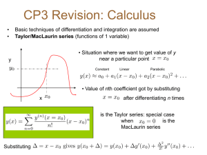 CP3 Revision Lecture 1