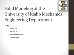 Powerpoint - University of Idaho