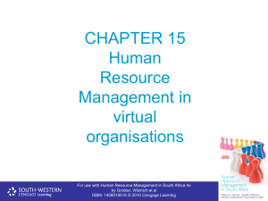 Chapter 15 - Cengage Learning