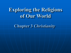 Exploring the Religions of Our World Chapter 3