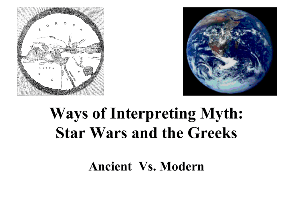 Ways of Interpreting Myth