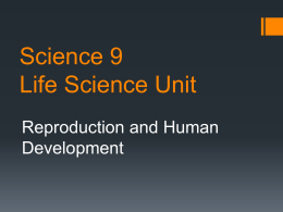 Science 9 Life Science Unit