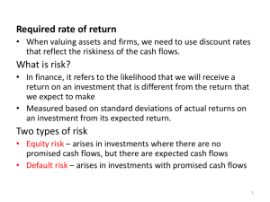 required rate of return2