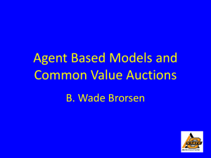 Agent Based Models Presentation