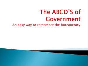 "The ABCD""s of Government[1] 2"