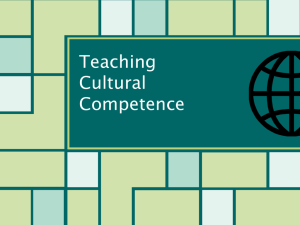 Teaching Diversity and Cultural Competence 5-30
