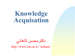 Knowledge Acquisition Difficulties