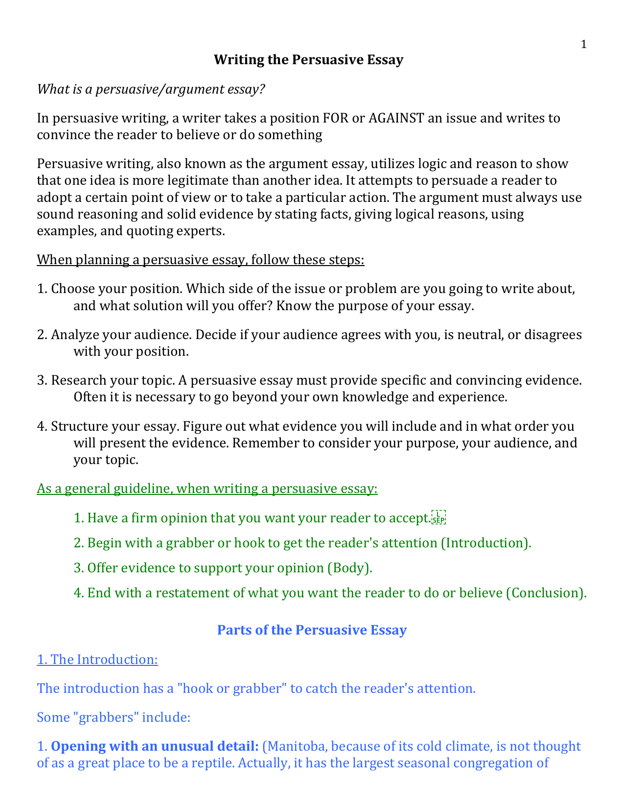 How to Create a Powerful Argumentative Essay Outline