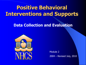 PBIS Module 2 for 2004 (UPDATED JULY 2010)