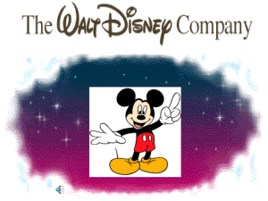 Disney Presentation Example
