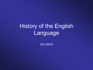 The Cambridge History of the English Language.
