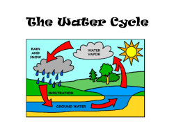 The Water Cycle - PilotFifthGrade