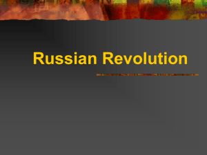 PPT Lecture: Russian Revolution 1917-1924