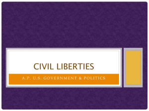 18. Civil Liberties