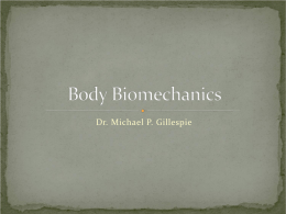 Body Biomechanics