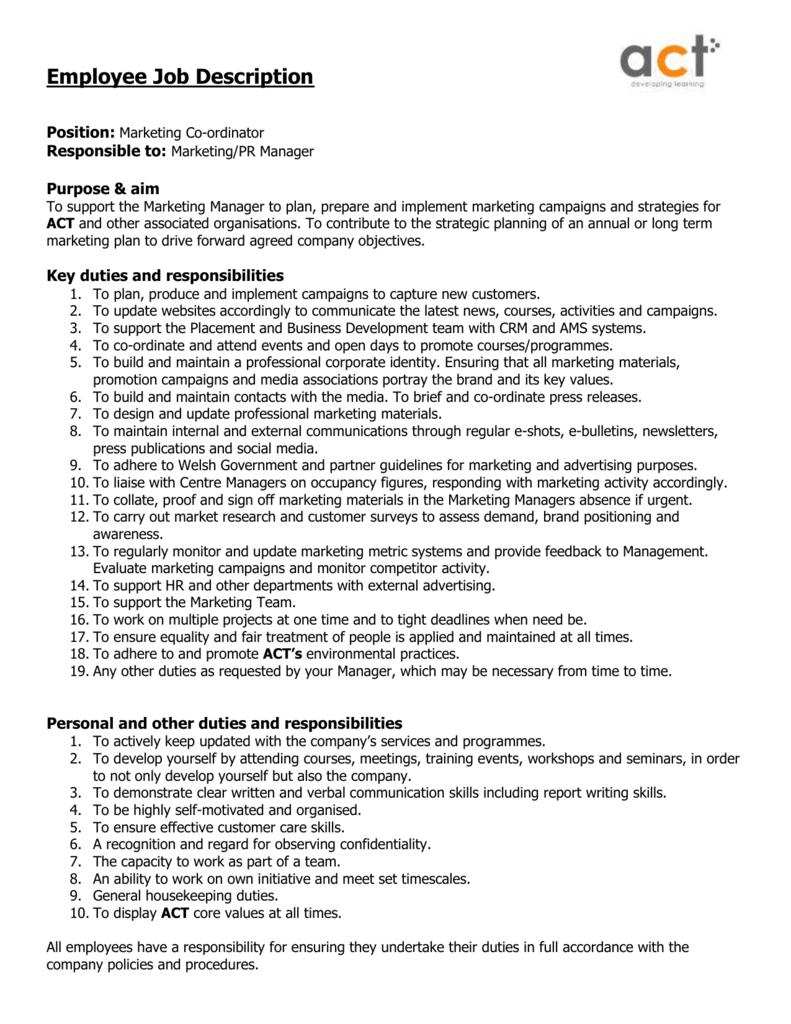 PR-manager - duties, job description 34