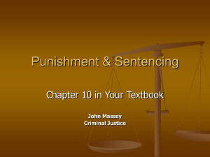 Punishment & Sentencing
