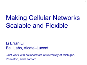 Narrowing the Beam: Lowering Complexity in Cellular Networks by